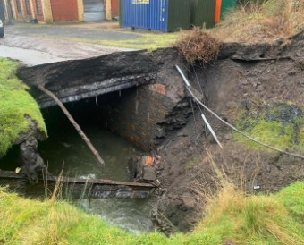 culvert damage